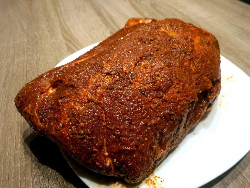 pulled pork rib