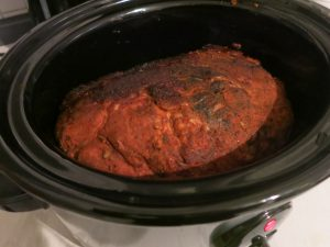 Pulled Pork vor dem Slowcooken