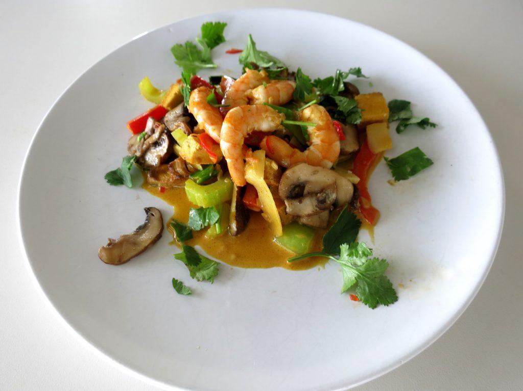 Asiatisches Rezept: Currygericht