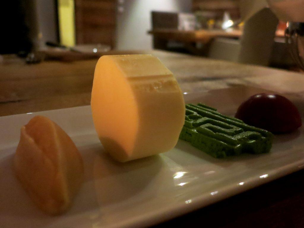 Verschiedene Arten von Butter im Restaurant Echt in Leogang