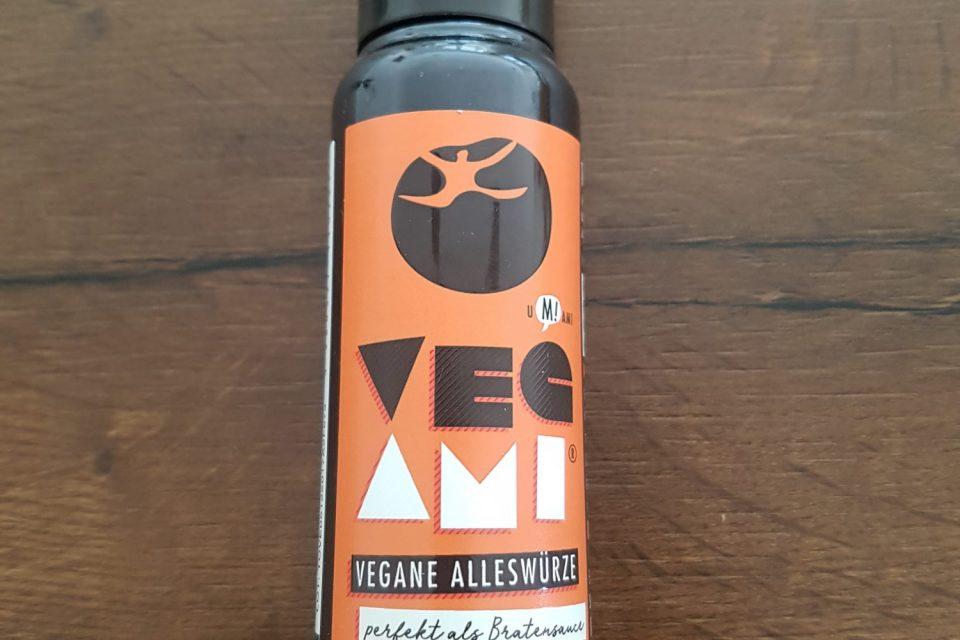 Flasche mit Tomami Vegami