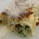 Gefüllte Cannelloni mit Parmesan